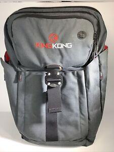 King Kong BACKPACK II - Gym/Backpack/Travel Bag - Charcoal