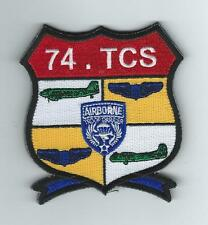 74th AIR REFUELING SQUADRON HERITAGE(74th TCS)  patch
