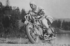 BMW RS 500 Kompressor 1935 & Henne - winner International Six Days Trial 1935 -
