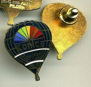 Konica Color Film Hot Air Balloon Pin