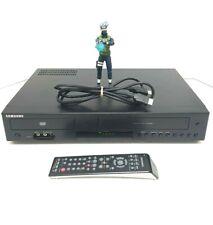 SAMSUNG DVD-V9800 VCR DVD Combo Player HDMI VHS 4 Head Hi-Fi w/ Remote 00061j