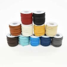 "Genuine Leather Lacing Deerskin Lace 3/16"" x 50' Necklace Cord Craft Bracelet"