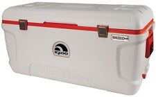 IGLOO Ice Chest Cooler 150 Qt. Built-in Cup Holders Thick Foam Insulation New