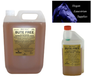 Gold Label Bute Free Liquid for Horses ALL SIZES