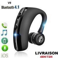 Ecouteur sans fil V9 TWS Bluetooth 4.1 Casque Stereo Sports Kit Main libre