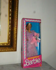 1984 Dream Time Barbie Orsacchiotto hawaiian superstar picture pretty house casa