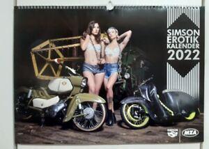 Simson Erotik Kalender 2022 S50 S51 Schwalbe Star Habicht 500x360 inkl. Bonus SR