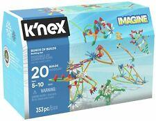 K'Nex 353 Part 20 Models Bunch of Builds Building Set 5+ Years Construction Kit
