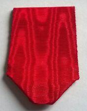 FRANCE: Rare ancien ruban plié en coton, pour chevalier de la Légion d'honneur.