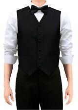 Retreez Men's Solid Colour Woven Waistcoat Gift Set