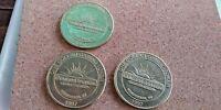 1997 SUNSET STATION HOTEL CASINO LAS VEGAS $1 GAMING TOKEN ONE (1) TOKEN