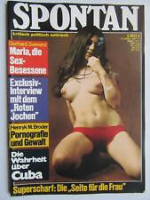 Spontan Nr 3/1971, Satire Sex Politik, Inhalt siehe Foto