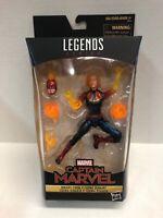 marvel legends Captain Marvel Binary Form