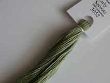 Over-dyed embroidery floss,  Early Sprouts,  DMC 3052  20yards