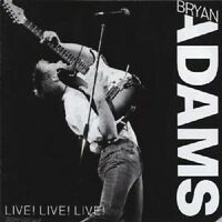 "BRYAN ADAMS ""LIVE LIVE LIVE"" CD NEUWARE"