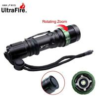 Ultrafire 6000 LM Zoomable  X-XML T6 LED Flashlight 18650 AAA Battery Torch ZH
