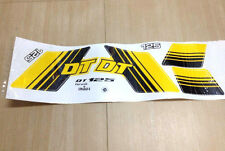STICKER FOR YELLOW BIKE YAMAHA DT125 DT 125