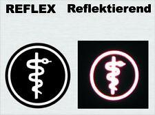 Sanitätsdienst Fachdienstabzeichen, reflektierend