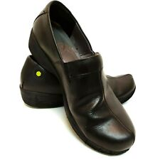 Dansko Work Wonders 40EUR / 9.5 US Black Slip Resistant Professional Clogs Shoes