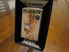 PLAYBOY OCTOBER 1990 COVER PINUP BLONDE ZIPPO LIGHTER MINT IN BOX
