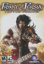 Prince of Persia THE TWO THRONES 2 DVD PC Game NEW BOX!