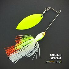 Bassdozer spinnerbaits SHORT ARM WILLOW 3/8 oz SMALLIE SPECIAL spinner bait lure