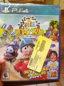 Race with Ryan Road Trip Edition New Sealed PS4