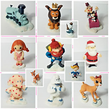 Rudolph and the Island of Misfit Toys Lot of 12 Figurines Enesco 2001 Hallmark