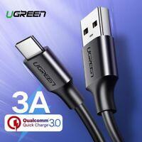Ugreen Cavo USB Tipo C USB C Cavo di Ricarica Rapida Cordone per Xiaomi Samsung