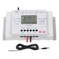 Sun YOBA 40A 12V/24V LCD MPPT Solar Charge Controller Regulator + 16ft Cable GA