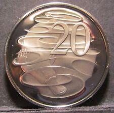 1975 Australia PROOF 20c Twenty Cents #PW1703-11 #P75-20-01 #SP75-20 rb1703-22