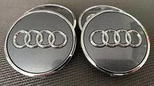 4x Original Audi radnabenabdeckung/Radkappen