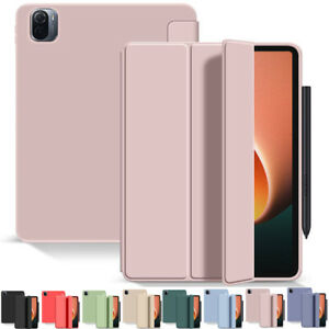 "For Xiaomi Mi Pad 5 / Mi Pad 5 Pro 11"" Tablet Smart Soft TPU PU Stand Case Cover"