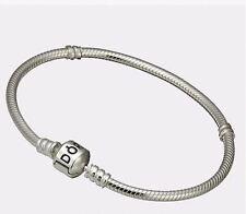 Pandora Bracelet, Sterling Silver, Pandora Charm Clasp 925 ALE 19cm 590702HV-19