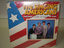 """THE SINGING AMERICANS...""""EVERYBODY OUGHT TO PRAISE HIS NAME""""....OOP GOSPEL ALBUM"""