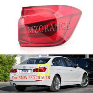 Right Side For BMW 3 Series 2016-2018 F30 M3 F80 Taillight Tail Light Rear Lamp