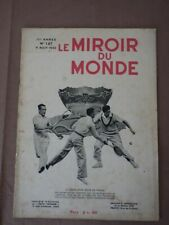 LE MIROIR DU MONDE 127 Aout 1932 TENNIS Davis Cup Cochet Brugnon Borotra