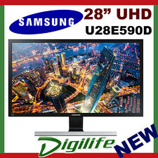 "Samsung 28"" LCD LED Monitor U28E850R 1ms 3840x2160 UHD DisplayPort PIP HDMI"