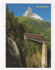 Gornergratbahn Auf Der Findelbachbruecke Switzerland Postcard 931a