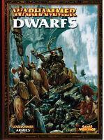 Warhammer Armies : Dwarfs 2005 Fantasy  New