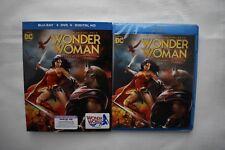 Wonder Woman 2017 Commemorative New Slipcover + Digital Hd + Dvd + Blu Ray