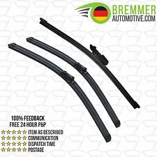 Skoda Superb Estate 3V (2015-->) Wiper Blade Complete Set X3 Front Rear