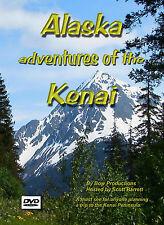 ALASKA TRAVEL FISHING  ON THE  KENAI PENINSULA  DVD MOVIE