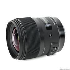 Sigma 35 mm f1.4 DG HSM lichtsarkes STANDARD OBJECTIF mit à focale fixe Nikon