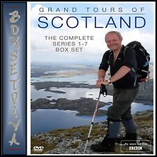 Grand Tours of Scotland The Complete Series 1 2 3 4 5 6 7 Season 1-7 R4 DVD