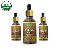 First Quality 100% Pure And Organic Argan Oil 3.38 oz. Certified USDA