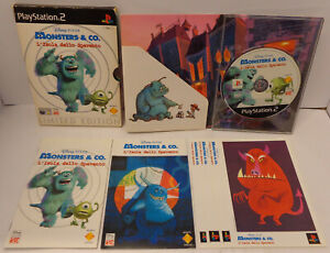 Console SONY Playstation 2 PS2 ITA MONSTERS & CO. L'Isola dello Spavento Limited