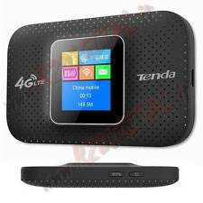 "MODEM 4G LTE TENDA 4G185 Display LCD RETROILLUMINATO 1,44"" USB CHIAVETTA WIFI PC"