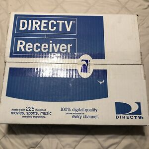 NEW IN BOX Direct TV D10-100 Satellite Receiver Cable Box W/Remote Manual Cables