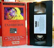 EXHIBITION ( CLAUDINE BECCARIE - JEAN FRANCOIS DAVY ) VHS - Versione integrale
